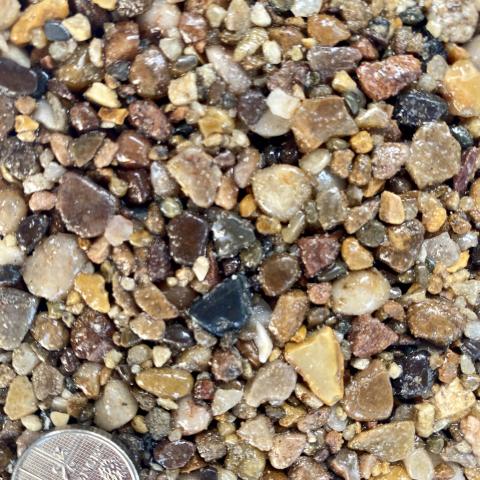 Axtell Surfacing Resin Bond Colour Sample Bella Beach