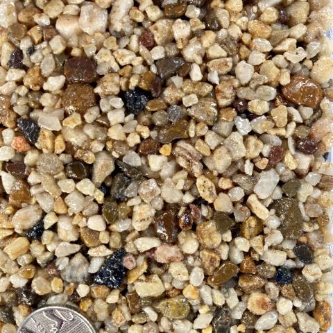 Axtell Surfacing Resin Bond Colour Sample Milo Sand